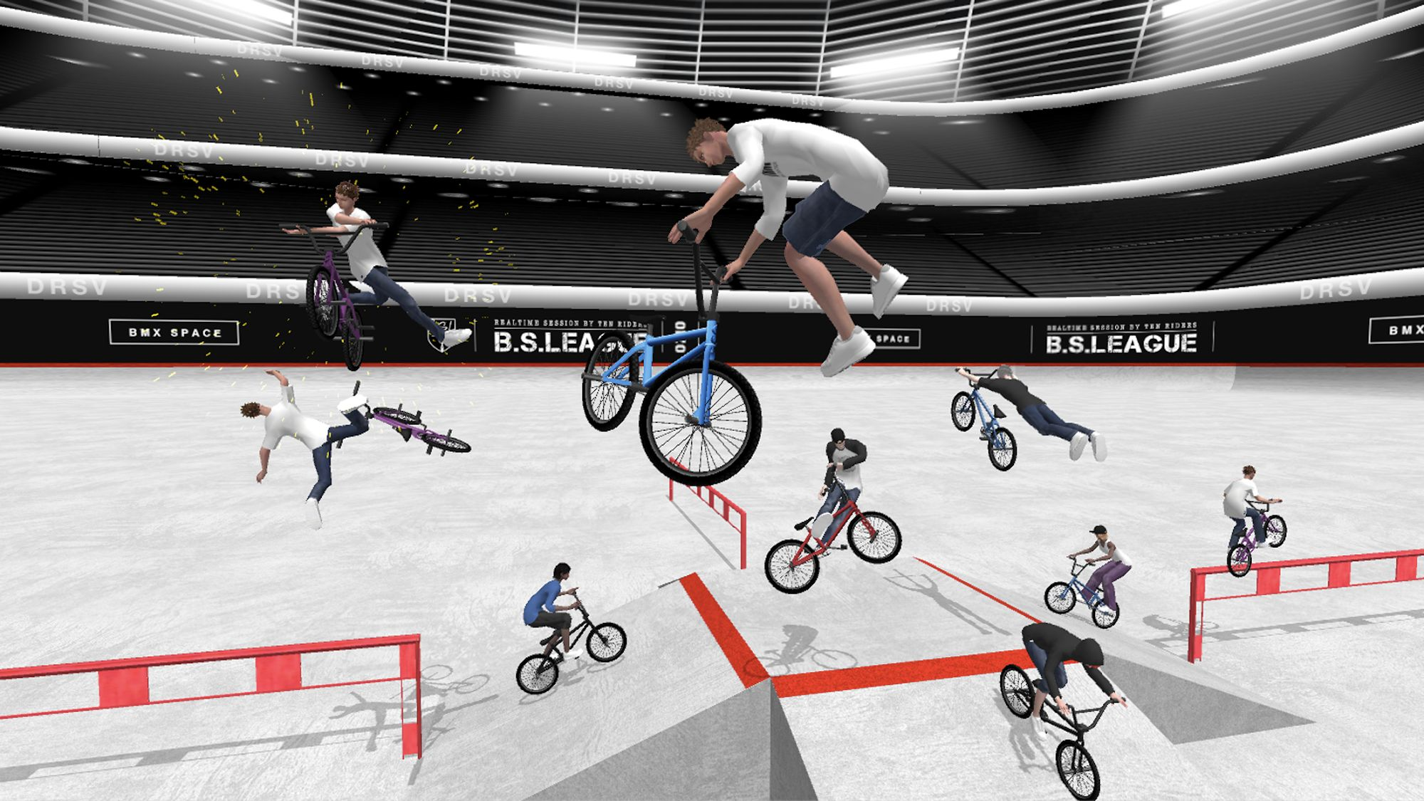 BMX Space captura de tela 1