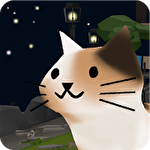 Cats and sharks: 3D game Symbol