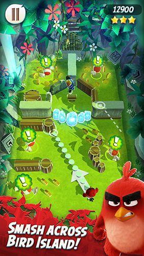 Arcade-Spiele: Lade Angry Birds Action! auf dein Handy herunter