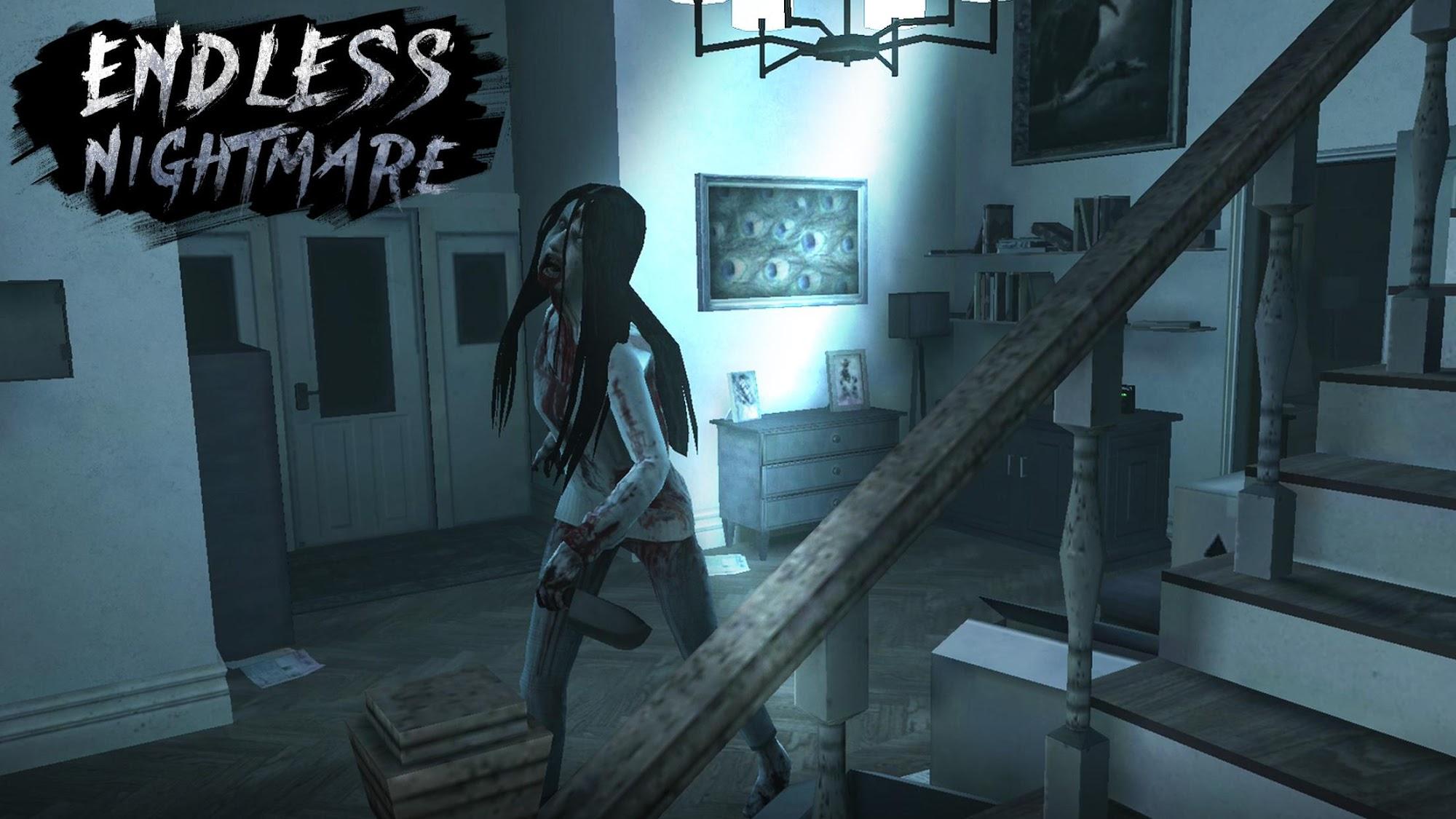 Endless Nightmare: 3D Creepy & Scary Horror Game скріншот 1