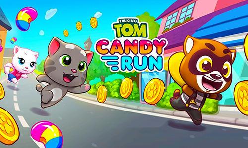 Talking Tom candy run screenshot 1