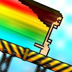 8-bit waterslide icon
