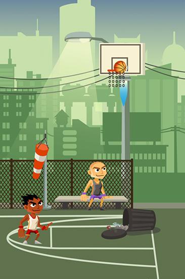 Arcade Basket boss: Basketball game für das Smartphone