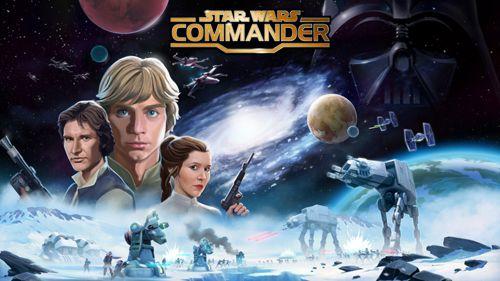 logo Star Wars: Commanter. Welten im Konflikt
