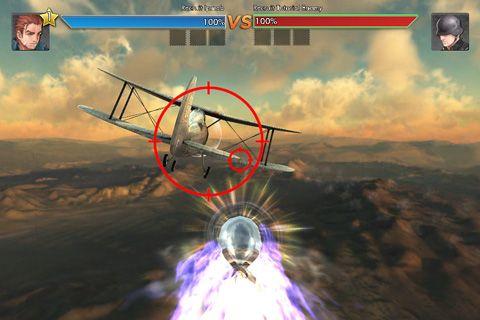 Capture d'écran Les cieux en métal sur iPhone