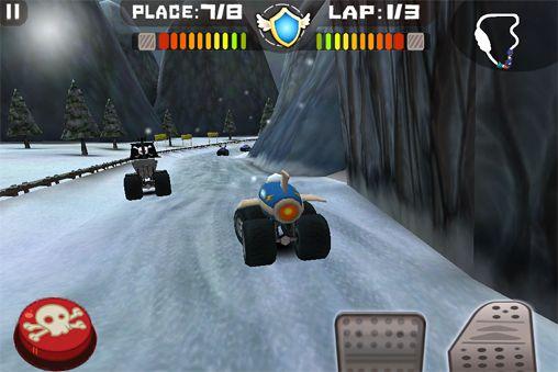 Juegos con multijugador: descarga Neumáticos de furia a tu teléfono