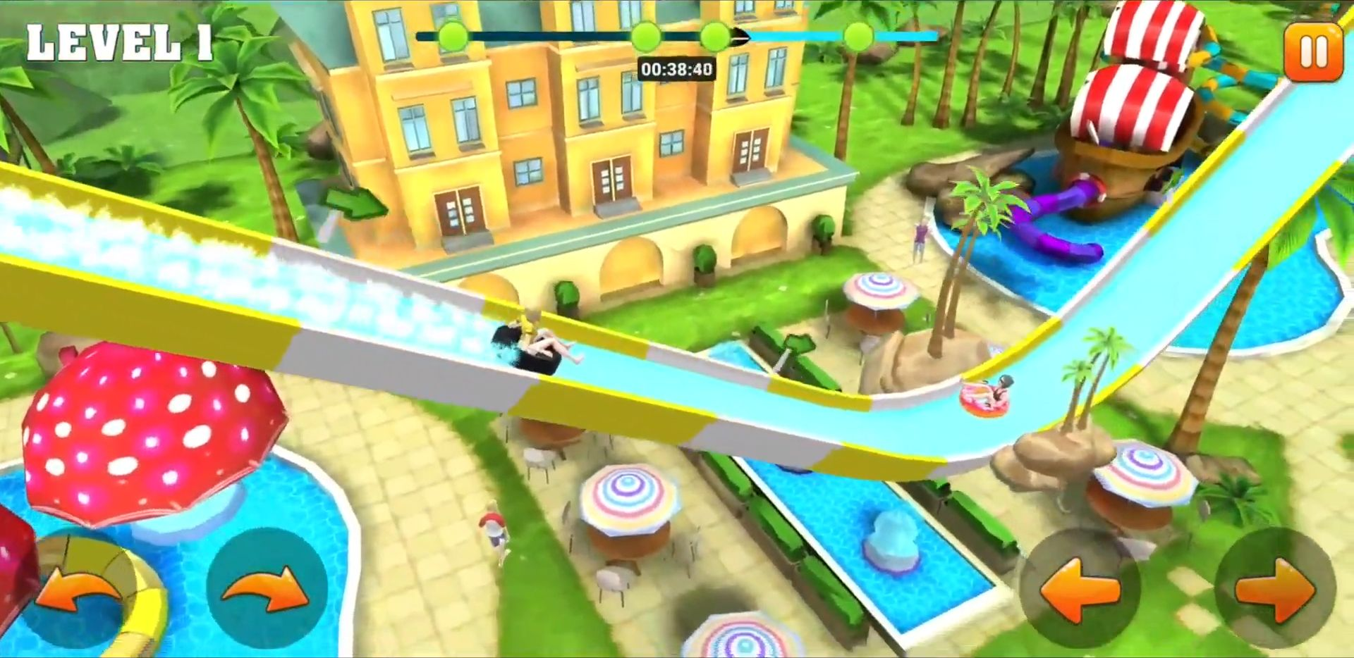Pool Ride - Water Park Racing pour Android