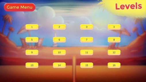 Arcade-Spiele Volleyball: Volley king für das Smartphone