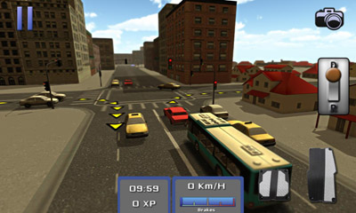 Bus Simulator 3D Screenshot