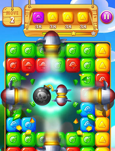 Candy tap tap für Android