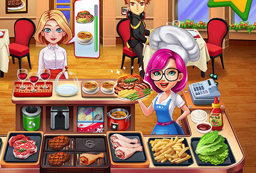 Cooking star chef: Order up! für Android
