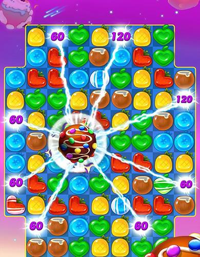 Arcade-Spiele Tasty treats blast: A match 3 puzzle games für das Smartphone