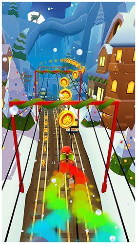 Arcade-Spiele: Lade Subway Surfers: Nordpol auf dein Handy herunter