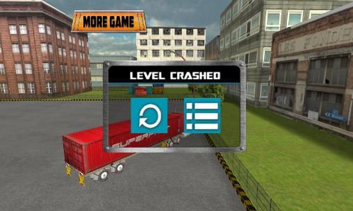 Truck driver 3D: Simulator Screenshot