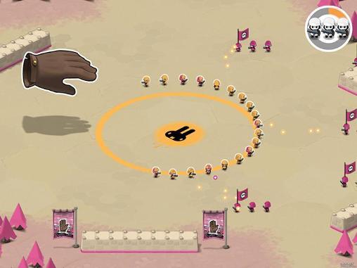 Tactile wars screenshot 1