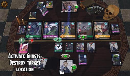 Online games Darwin Kastle's Cthulhu realms for smartphone