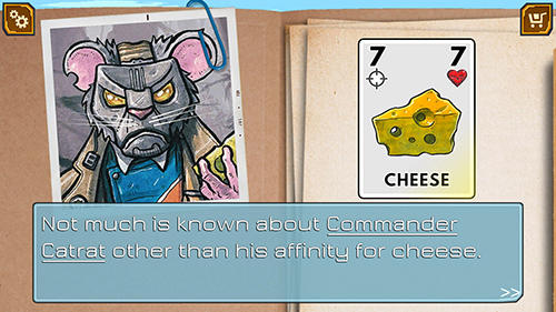Board games Meow wars: Card battle for smartphone