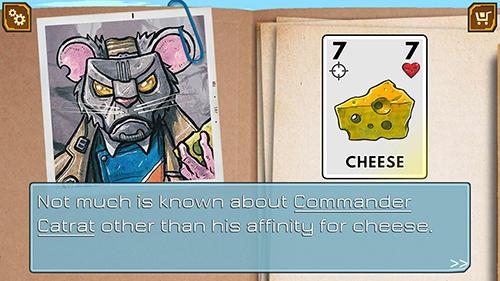 Juegos de mesa Meow wars: Card battle para teléfono inteligente