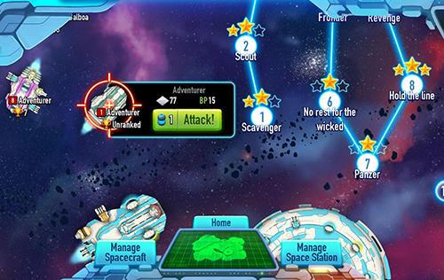 Lunar battle Screenshot