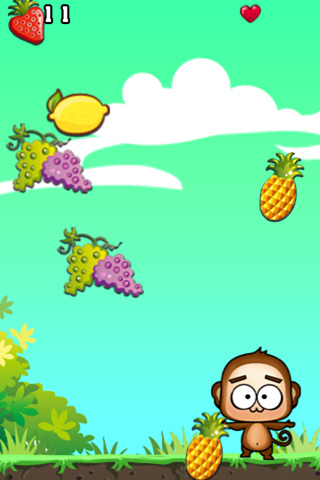 : descargar Súper mono: Frutas para iPhone