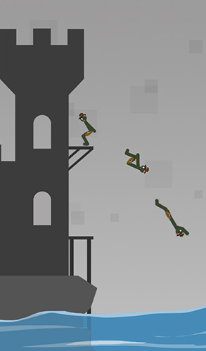 Stickman flip diving for Android