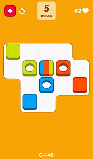 Block-Spiele Re-move blocks auf Deutsch