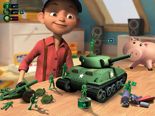 Army men strike for Android