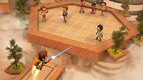 Flying hero escape 3D für Android