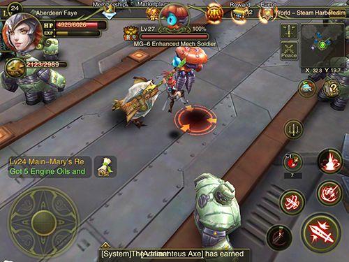 Captura de tela Aurora dos imortais no iPhone