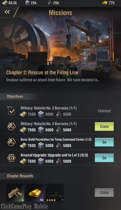 Warpath screenshot 1
