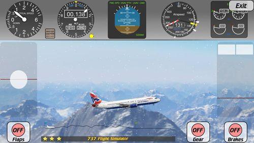 Simuladores: descarga Simulador de vuelo 737 a tu teléfono