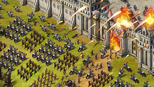 Online Strategy games Evony: The king's return in English