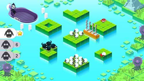 Arcade-Spiele: Lade Teile durch Schaf auf dein Handy herunter