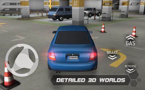 Simulator-Spiele Parking reloaded 3D für das Smartphone