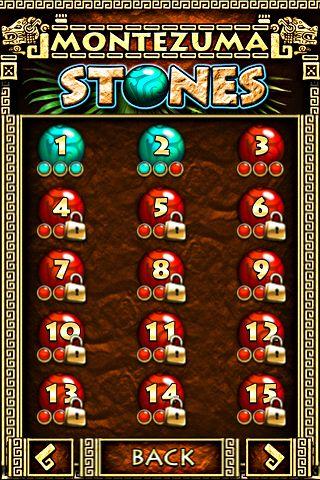 Les pierres de Montezuma en russe