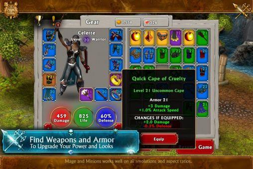 RPG Mage and minions für das Smartphone