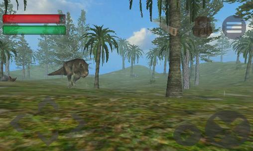 Simulation games World of dinos for smartphone