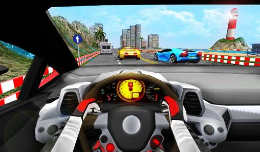 de courses Racing in car turbo pour smartphone