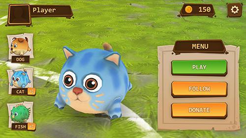 Arcade-Spiele Bubble bounce: League of jelly für das Smartphone