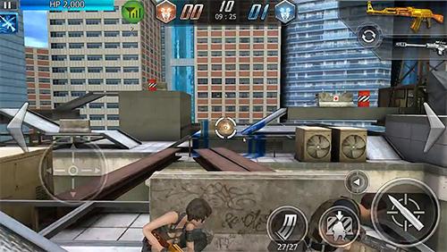 d'action Mobile combat pour smartphone