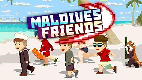 Maldives friends: Pixel flappy fighter capture d'écran 1