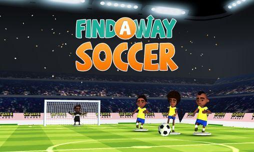 Find a way: Soccer Screenshot