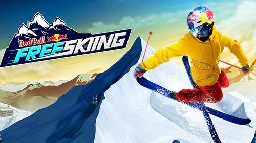 logo Red Bull free skiing