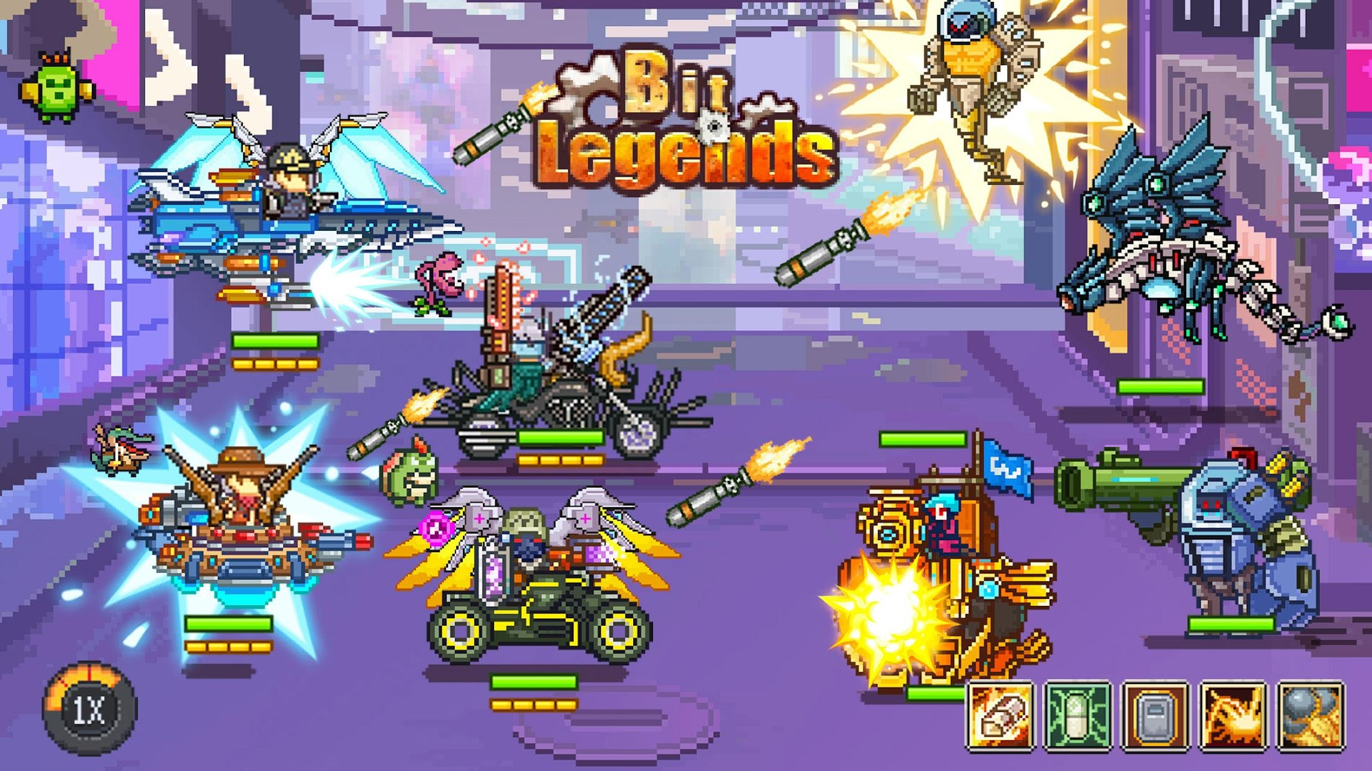 Bit Legends screenshot 1