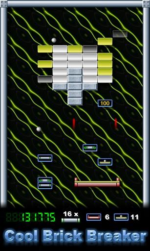 Block-Spiele Cool brick breaker auf Deutsch