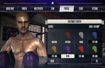 Sports games Real Boxing in English