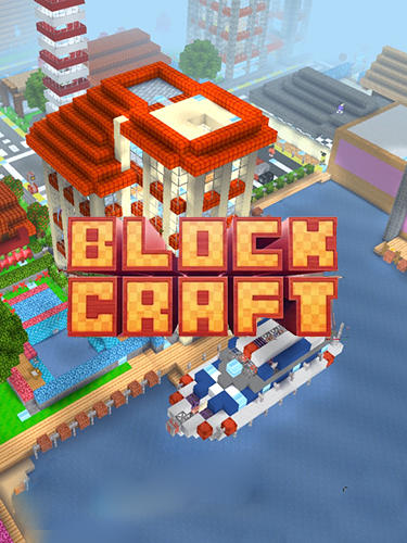 Block craft 3D: Simulator captura de tela 1
