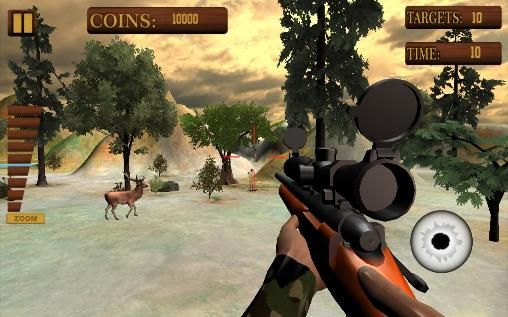 Jungle deer hunting game 2016 para Android