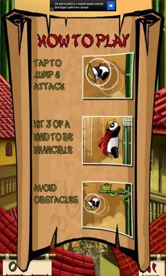 Arcade Panda Sprung für das Smartphone