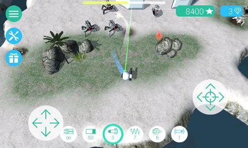 Action Cybersphere für das Smartphone